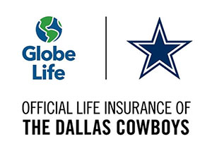 Globe Life Official Life Insurance of the Dallas Cowboys