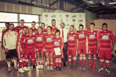 Globe Life Sponsors Special Olympics FC Dallas article thumbnail