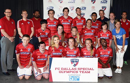 The Spirit Of FC Dallas Special Olympics And Globe Life article thumbnail