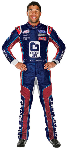 Bubba Wallace, Globe Life and Roush Fenway Racing